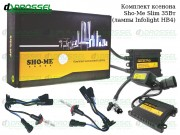 Ксенон Sho-Me Pro slim / Infolight HB4 (9006) (3000K, 4300K, 5000K, 6000K, 8000K) Xenon