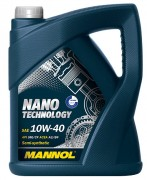 Моторное масло Mannol Nano Technology 10W40