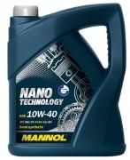 Моторное масло Mannol Nano Technology 10W40