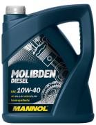Моторное масло Mannol Molibden Diesel 10W40
