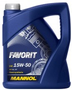 Моторное масло Mannol Favorit 15W50