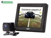 Система видеопарковки: универсальная камера заднего вида Gazer CC100 + монитор Gazer MC135