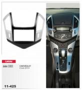 Переходная рамка Carav 11-425 Chevrolet Cruze 2013+ (Silver), 2-DIN