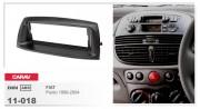 Carav  Переходная рамка Carav 11-018 Fiat Punto 1999-2004, 1-DIN