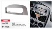 Carav Переходная рамка Carav 11-056 Fiat Siena, Palio 1996 - 2002, Palio Weekend 1997-2011, 1-DIN