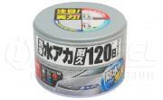 Водоотталкивающий полироль + очиститель для темных ЛКП авто Soft99 Coating & Cleaning Wax Silver & Dark 00288