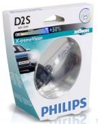 Philips Ксеноновая лампа Philips D2S X-treme Vision 85122 XV S1