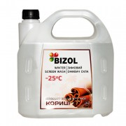 Незамерзающая жидкость в бачок омывателя с ароматом Цейлонской Корицы Bizol (4л)