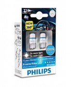 Philips Комплект светодиодов Philips X-tremeVision (T10 / W5W) 12799 LED