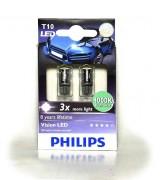 Комплект светодиодов Philips Vision WBT10 (T10 / W5W) 12933LEDX2 4000K