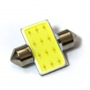 —ветодиодна¤ лампа Zax LED C5W (SV8,5) HIGH POWER COB 1PCS 12 chip 31mm White (Ѕелый)