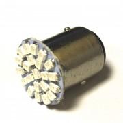 —ветодиодна¤ лампа Zax LED S25 (P21-5W 1157 BA15d) 1210 22SMD Red (расный)