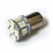 Светодиодная лампа Zax LED S25 (P21W 1156 BA15S) 5050 13SMD Yellow (Желтый)