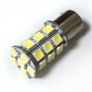 Светодиодная лампа Zax LED S25 (P21W 1156 BA15S) 5050 27SMD White (Белый)
