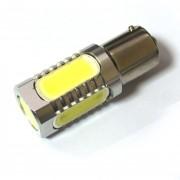 Светодиодная лампа Zax LED S25 (P21W 1156 BA15S) HIGH POWER 5PCS 7.5W White (Белый)