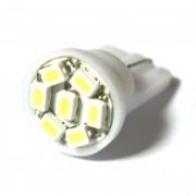 Светодиодная лампа Zax LED T10 (W5W) 1206 7SMD White (Белый)