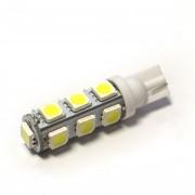 Светодиодная лампа Zax LED T10 (W5W) 5050 13SMD White (Белый)