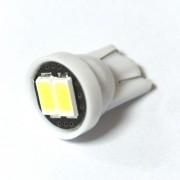 —ветодиодна¤ лампа Zax LED T10 (W5W) 5630 2SMD White (Ѕелый)