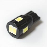 Светодиодная лампа Zax LED T10 (W5W) 5630 6SMD White (Белый)