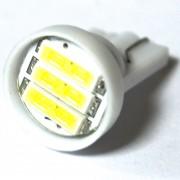 Светодиодная лампа Zax LED T10 (W5W) 7014 3SMD White (Белый)