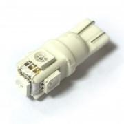 —ветодиодна¤ лампа Zax LED T10 (W5W) CERAMIC 5050 5SMD Yellow (∆елтый)