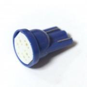 Светодиодная лампа Zax LED T10 (W5W) COB 1PC 6 chip Blue (Синий)