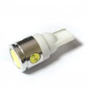 Светодиодная лампа Zax LED T10 (W5W) HIGH POWER 0.5W 3PCS + 1W 1PC White (Белый)