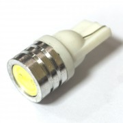 —ветодиодна¤ лампа Zax LED T10 (W5W) HIGH POWER 1SMD 1.0W White (Ѕелый)