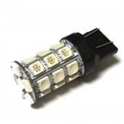 —ветодиодна¤ лампа Zax LED T20 (W21-5W 7443 W3х16q) 5050 27SMD Yellow (∆елтый)