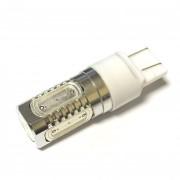 —ветодиодна¤ лампа Zax LED T20 (W21-5W 7443 W3х16q) HIGH POWER 5PCS 7.5W Red (расный)