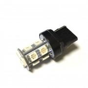 Светодиодная лампа Zax LED T20 (W21W 7440 W3х16d) 5050 18SMD Yellow (Желтый)