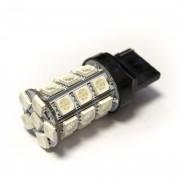 —ветодиодна¤ лампа Zax LED T20 (W21W 7440 W3х16d) 5050 27SMD Yellow (∆елтый)