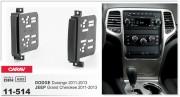 Переходная рамка Carav 11-514 JEEP Grand Cherokee 2011-2013 / DODGE Durango 2011-2013, 2-DIN