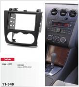 Переходная рамка Carav 11-349 Nissan Altima 2006-2012, 2-DIN