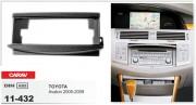 Переходная рамка Carav 11-432 Toyota Avalon 2005-2009, 1-DIN