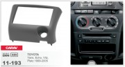 Переходная рамка Carav 11-193 Toyota Yaris, Echo 1999-2005 (Left wheel), 2-DIN