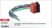 Переходник / адаптер ISO (Male / папа) Carav 12-001 для подключения магнитолы