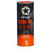 Verylube Минеральное трансмиссионное масло Verylube 80W-90 GL 3 / 4 / 5