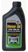 Оригинальное моторное масло Toyota Motor Oil 0W-20 (00279-0WQTE)
