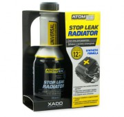 Средство для остановки течи радиатора Xado (Хадо) Atomex Stop Leak Radiator