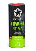 Мотоциклетное моторное масло Verylube 4Т MA 10w-60