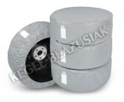 Комплект защитных чехлов для автомобильных шин и колес Kegel 4 x Season (размер L 14-17`)