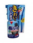 Очиститель + щетка для тканевых покрытий салона авто Soft99 Fabric Seat & Mat Cleaner 02080