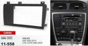 Переходная рамка Carav 11-558 Volvo S60 2005-2010, V70, XC70 2005-2007, 2 DIN