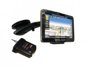 GPS-навигатор Steelmate All-In-One 881 с парктроником и камерой заднего вида, TPMS, радар-детектором