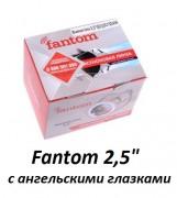 Ѕи-ксеноновые линзы Fantom 2,5` (65мм) с ангельскими глазками