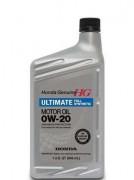 Оригинальное моторное масло Honda HG Ultimate 0W-20, 08798-9037