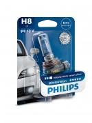 Лампа галогенная Philips WhiteVision PS 12360WHVB1 (H8)