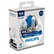 Комплект ламп Philips WhiteVision PS 12342WHVSM (H4)