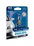 Лампа галогенная Philips WhiteVision PS 12336WHVB1 (H3)